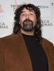 Mick Foley Ear Torn Off