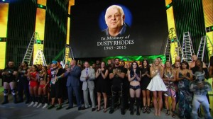 Tribute to Dusty Rhodes at Money in the Bank 2015
